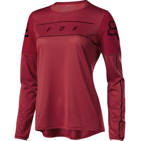 Fox Flexair LS Jersey Women cardinal